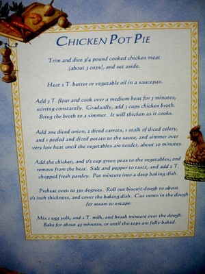 recipe potpie