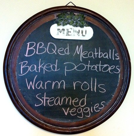 meatballs menu