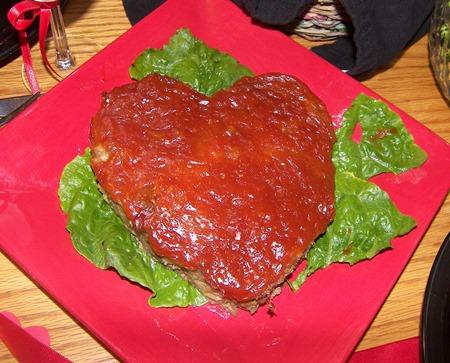 valentines meatloaf
