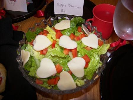 valentines salad