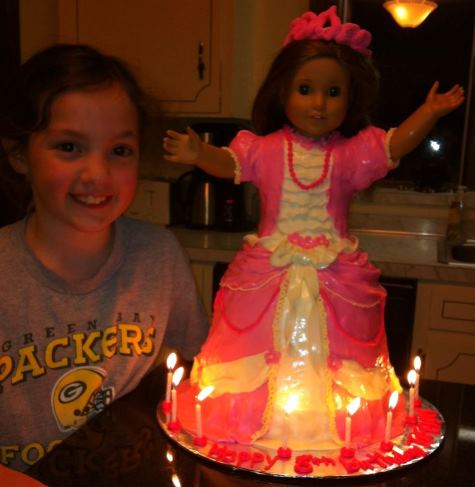american girl doll cake rebecca tiffany