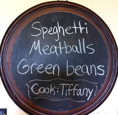 tiff meal menu
