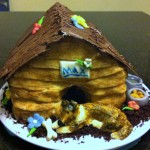 cake doghouse by Lexi